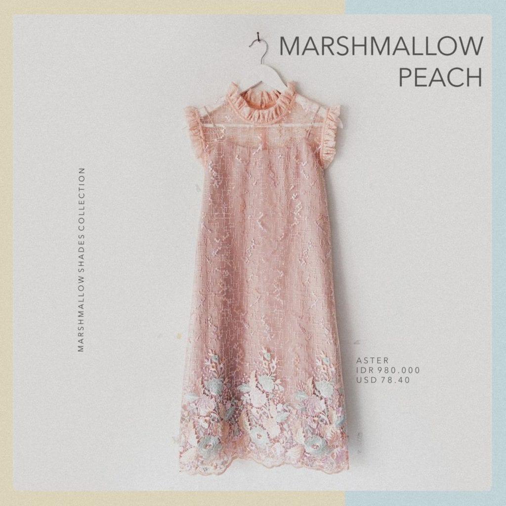 PO Aster Marshmallow Peach